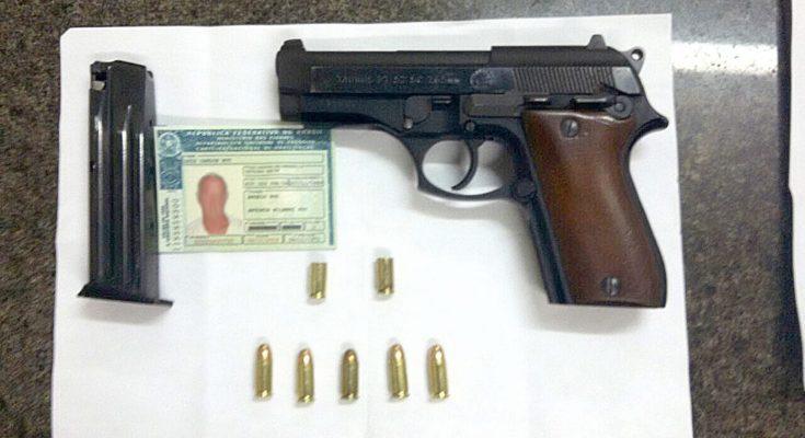 empresário é preso em flagrante portando pistola 765 tv jaguari