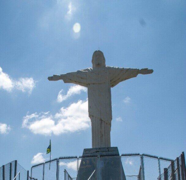 Cristo Redentor da Fazenda Quilombo - TV Jaguari